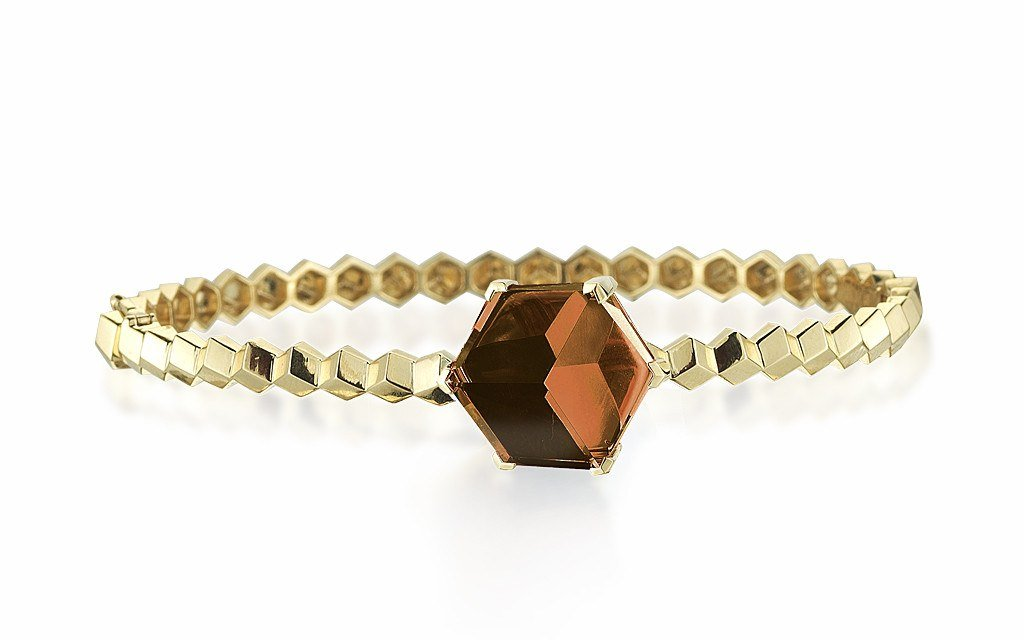 Citrine 'Brillante® Valentina' Bangle - Paolo Costagli - 1