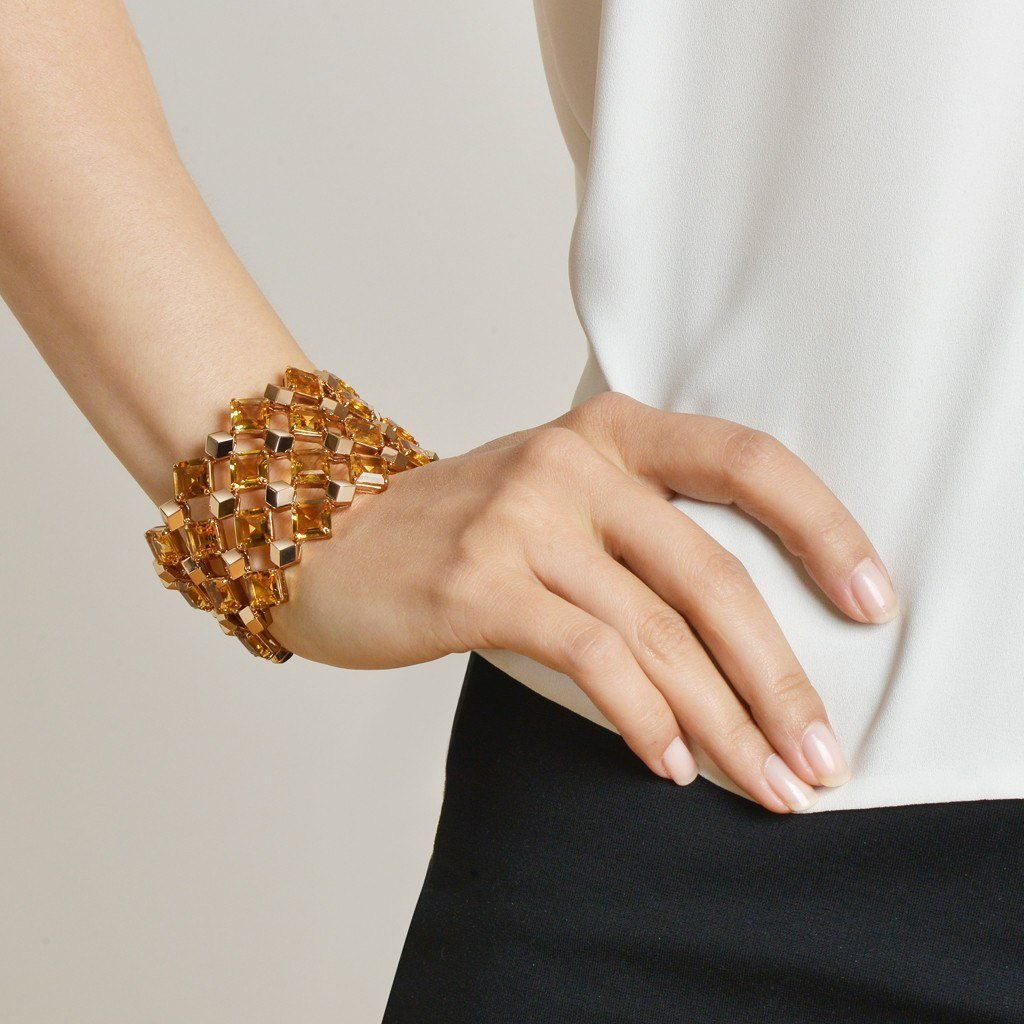 Citrine 'Very PC'® Cuff - Paolo Costagli - 2