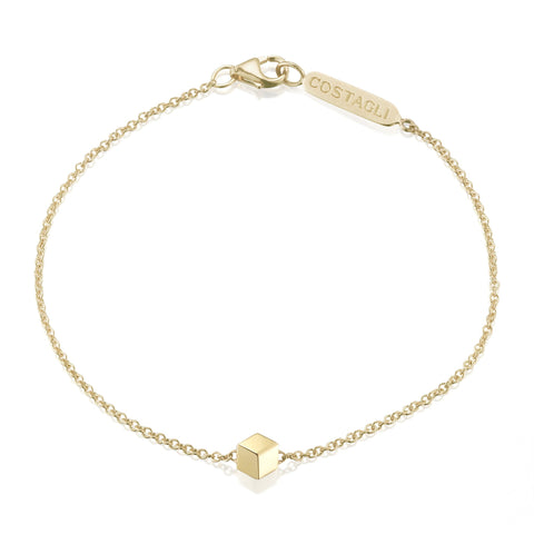 18kt yellow gold Natalie bracelet