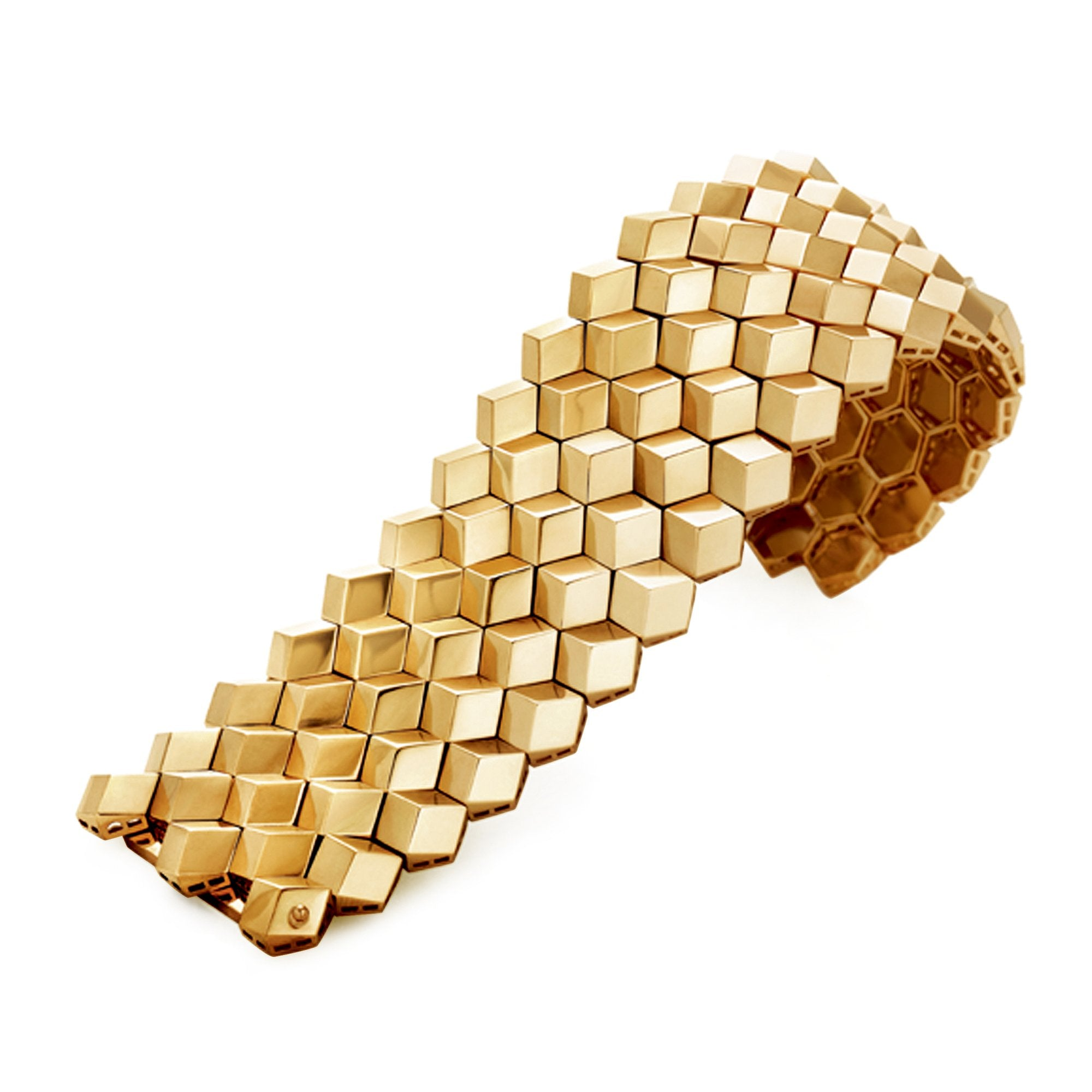 Rose Gold 'Brillante®' Bracelet, Grande - Paolo Costagli - 1