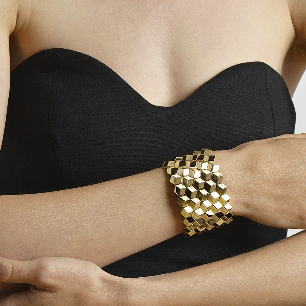Yellow Gold 'Brillante®' Bracelet, Grande - Paolo Costagli - 2