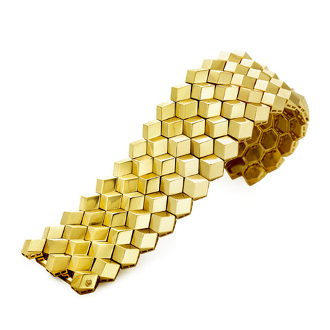 18kt Yellow Gold Brillante® Bracelet, Grande - Paolo Costagli