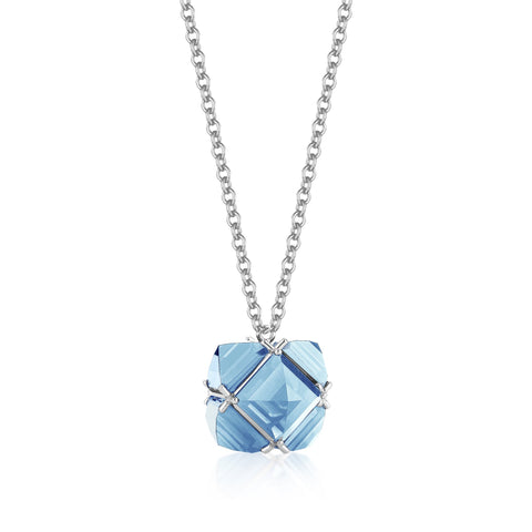 Blue Topaz Very PC® Pendant Necklace, Petite - Paolo Costagli