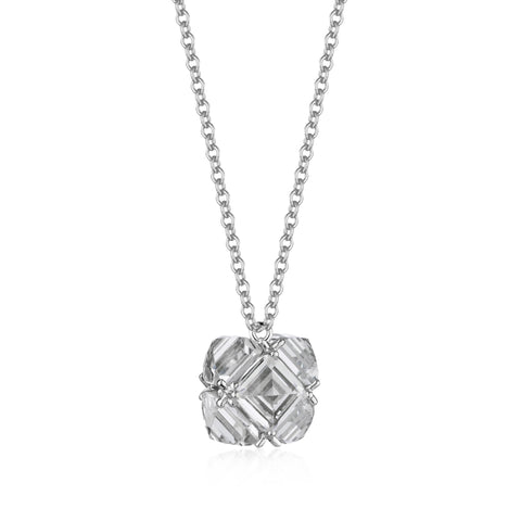 White Topaz Very PC® Pendant Necklace, Petite - Paolo Costagli
