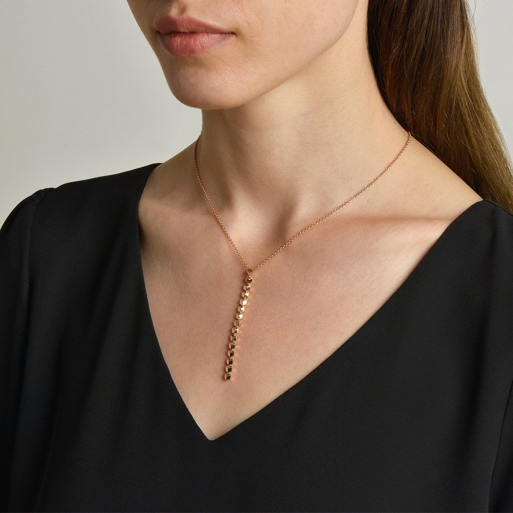 Rose Gold 'Brillante® Sexy' Pendant Necklace - Paolo Costagli - 2
