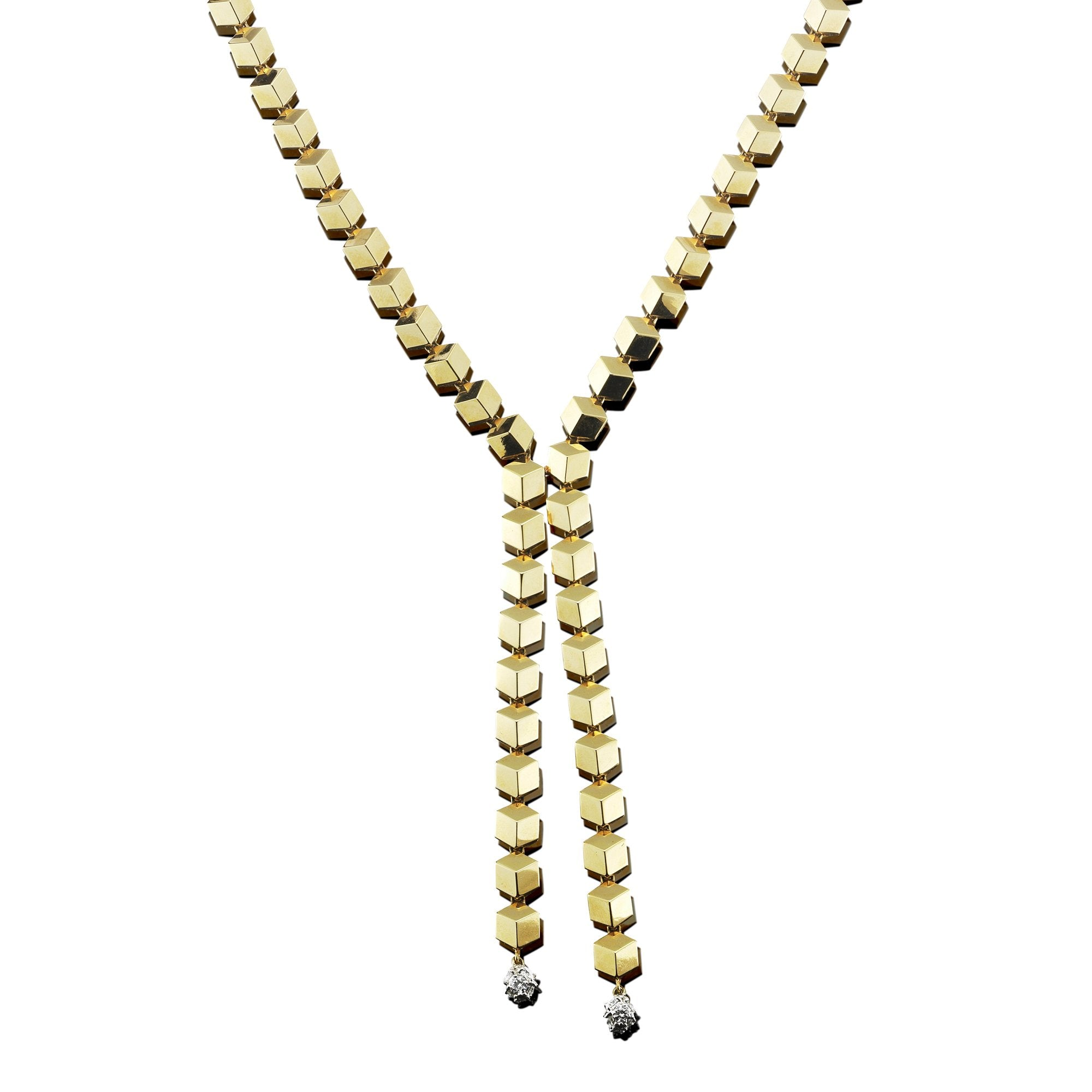 Yellow Gold 'Brillante® Sexy' Necklace - Paolo Costagli - 1