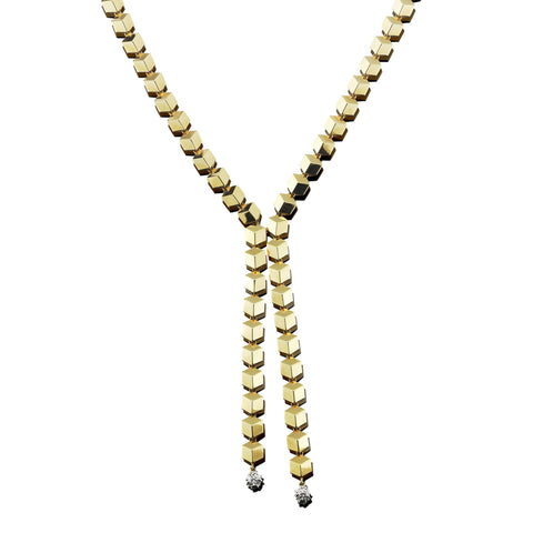 Yellow Gold Brillante® Sexy Necklace - Paolo Costagli