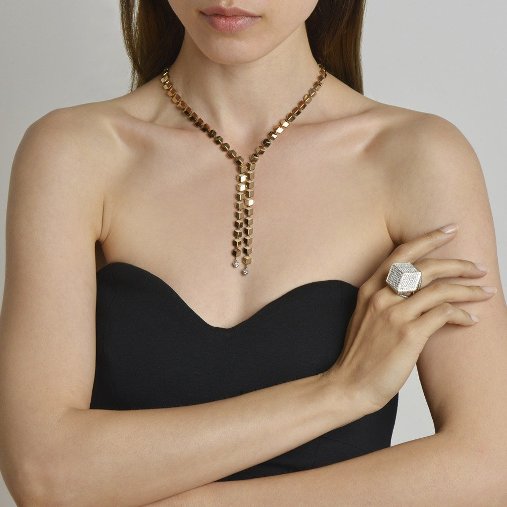 Rose Gold 'Brillante® Sexy' Necklace - Paolo Costagli - 2