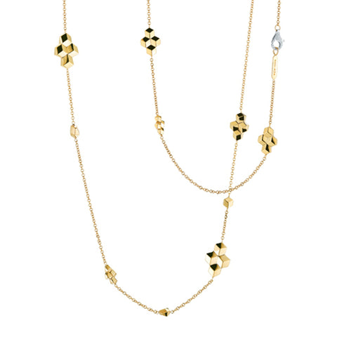 18kt Yellow Gold Brillante® Sautoir Necklace - Paolo Costagli