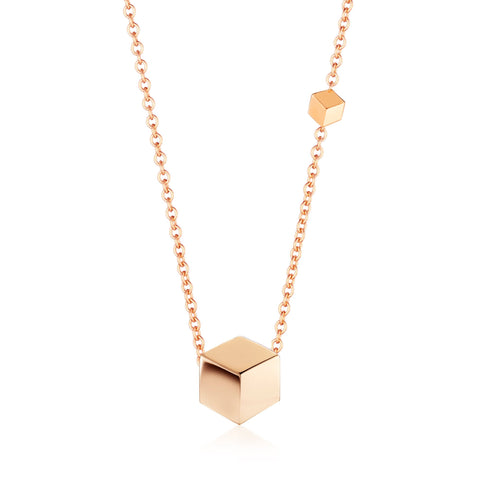 18kt Rose Gold Brillante® Pendant Necklace - Paolo Costagli