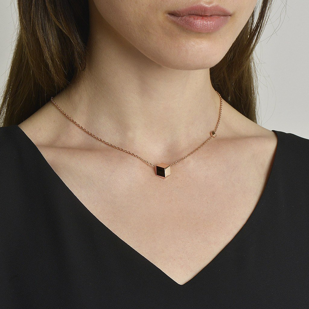 Rose Gold 'Brillante®' Pendant Necklace - Paolo Costagli - 2