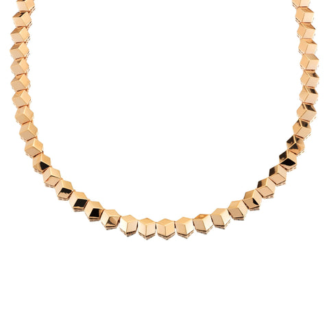 18kt Rose Gold Brillante® Necklace, Petite - Paolo Costagli