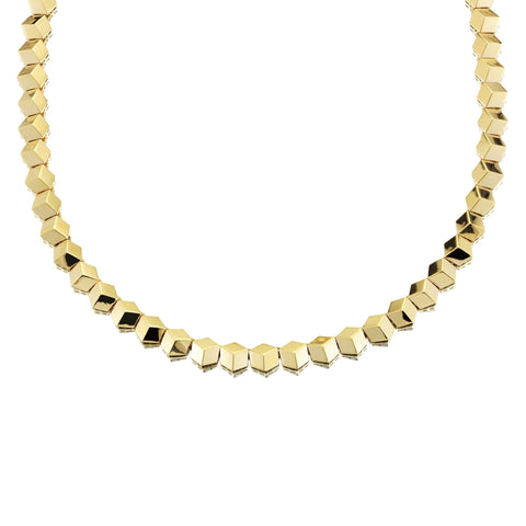18kt Yellow Gold Brillante® Necklace, Petite - Paolo Costagli