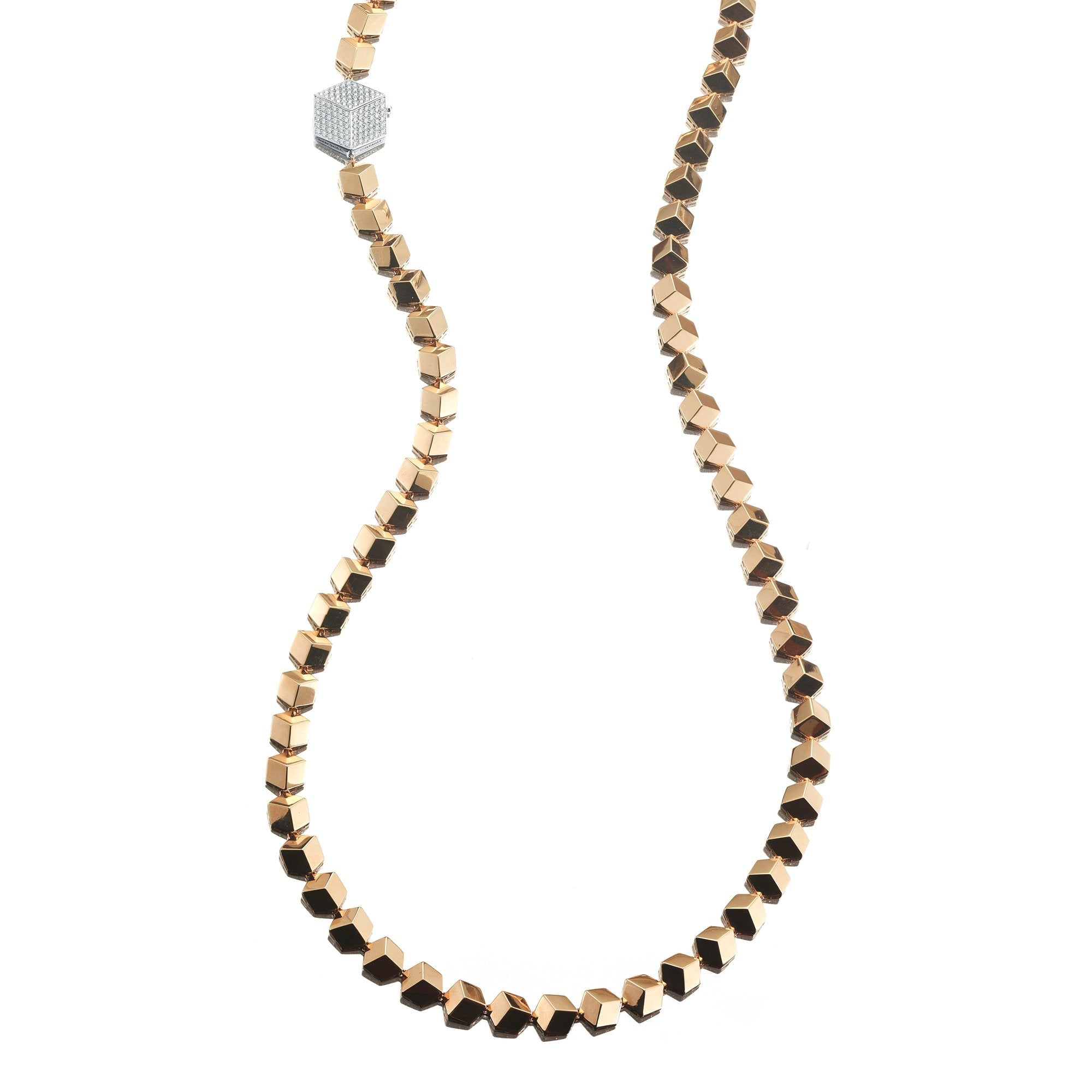 Rose Gold 'Brillante®' Necklace, Grande - Paolo Costagli - 1