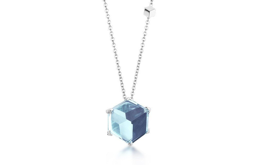 Blue Topaz 'Brillante® Valentina' Pendant Necklace - Paolo Costagli - 1