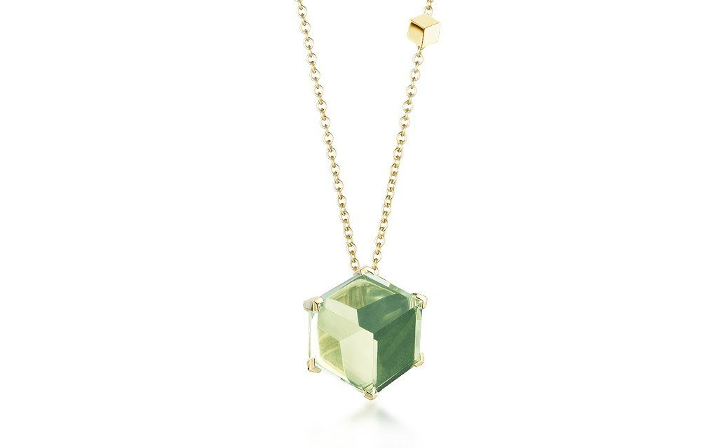 Green Amethyst 'Brillante® Valentina' Pendant Necklace - Paolo Costagli - 1