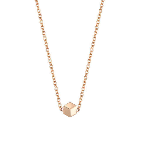 18kt Rose Gold Unique Natalie Pendant Necklace - Paolo Costagli