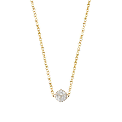 Yellow Gold and Diamond Brillante® Natalie Necklace - Paolo Costagli