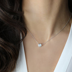 Blue Topaz Brillante® Valentina Pendant Necklace, dolce
