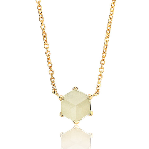 Green Amethyst Brillante® Valentina Pendant Necklace, dolce - Paolo Costagli
