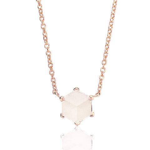 White Topaz Brillante® Valentina Pendant Necklace, dolce - Paolo Costagli