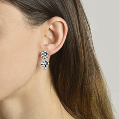 White Gold Brillante® Earrings, Petite - Paolo Costagli