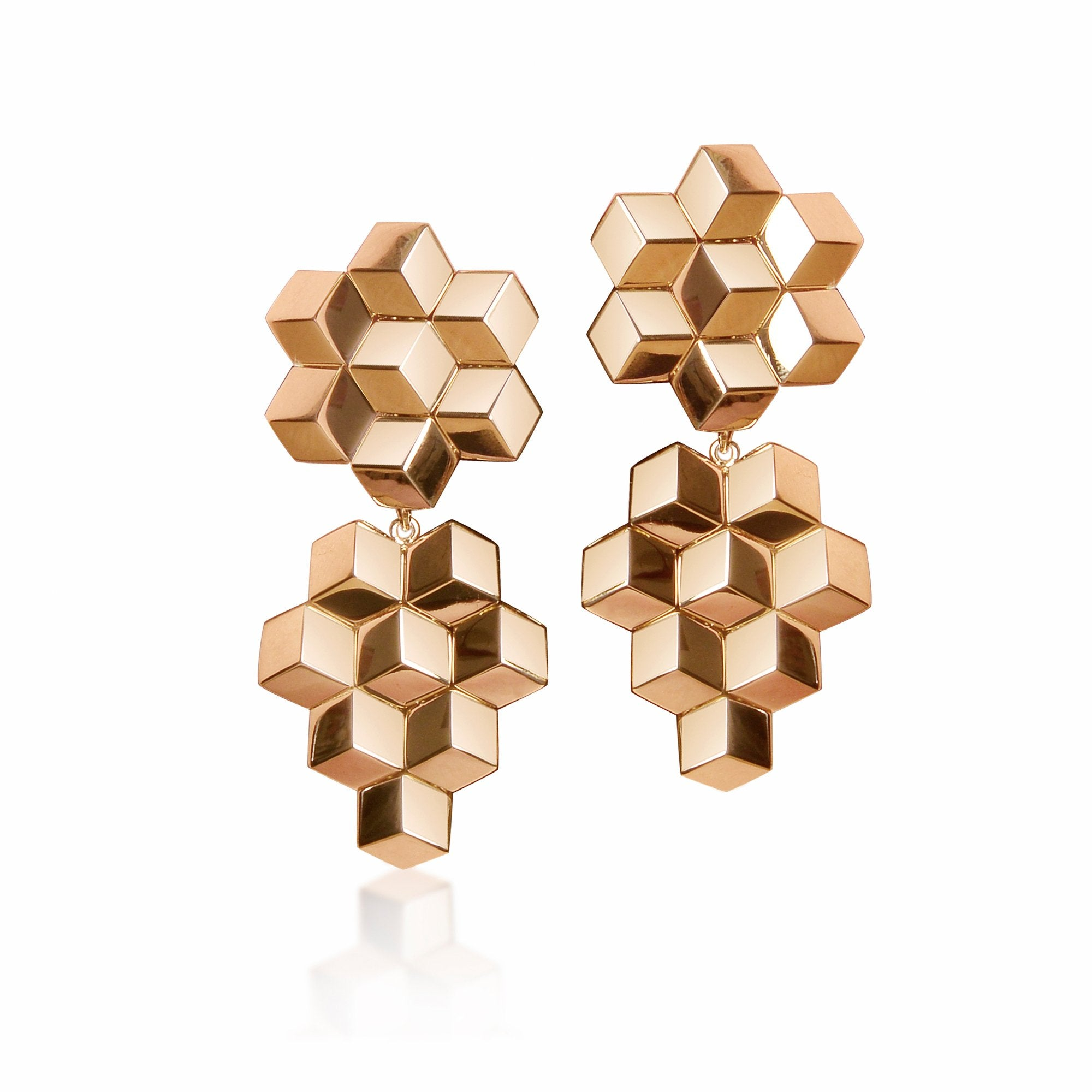 Buy Latest 18kt Rose Gold Earring for Women at Best Prices – Paolo ...