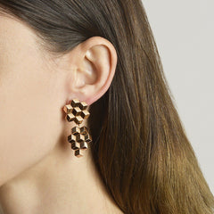18kt Rose Gold Brillante® Earrings, Medium - Paolo Costagli