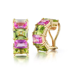 18kt Yellow Gold Florentine Earrings Set - Paolo Costagli