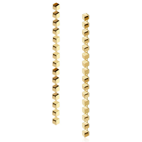 Yellow Gold Brillante® Sexy Earrings - Paolo Costagli