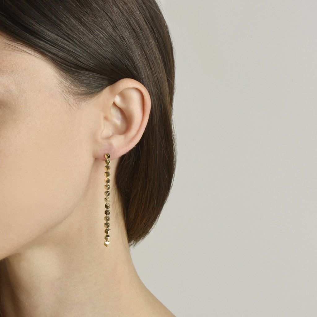 Yellow Gold 'Brillante® Sexy' Earrings