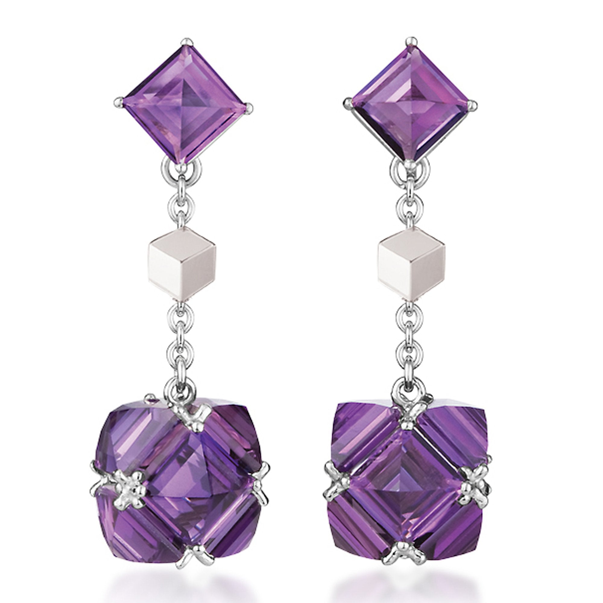 Amethyst 'Very PC®' Earrings, Petite - Paolo Costagli - 1
