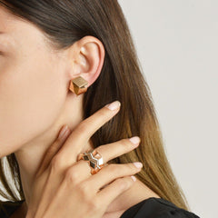 18kt Rose Gold Brillante®Clip Earrings - Paolo Costagli