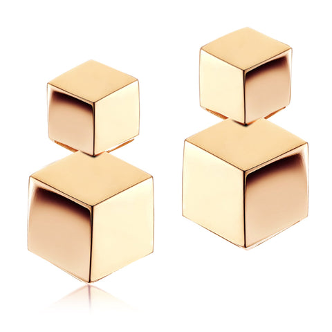 18kt Rose Gold Brillante® Drop Earrings - Paolo Costagli