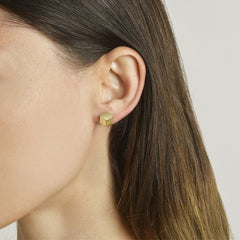 18kt Yellow Gold Brillante® Stud Earrings - Paolo Costagli