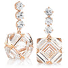 Rose Gold White Topaz and Sapphire Very PC® Earrings, Grande - Paolo Costagli