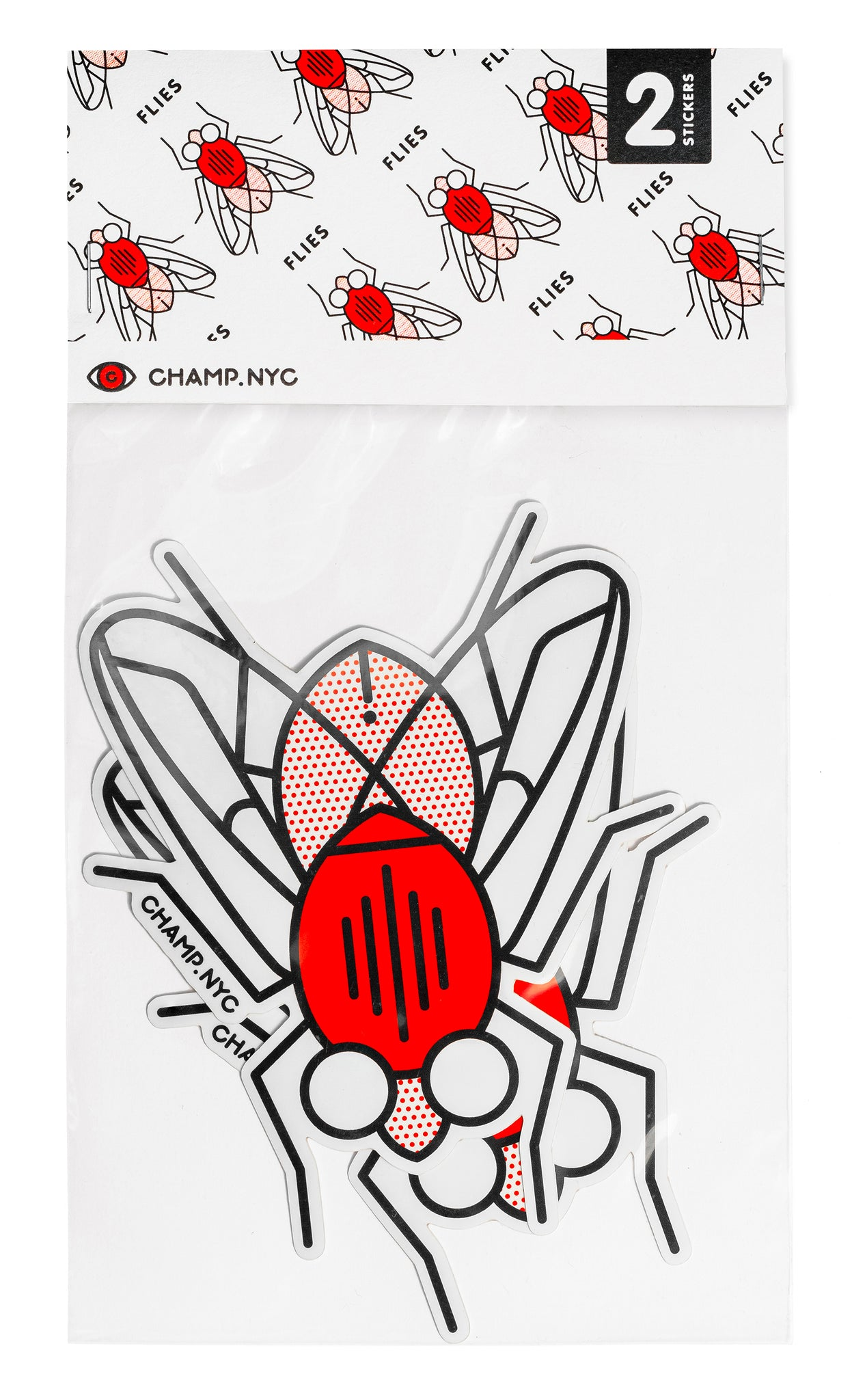 Flies Sticker Pack