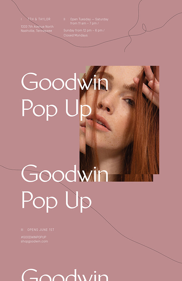 Goodwin Summer Pop-Up