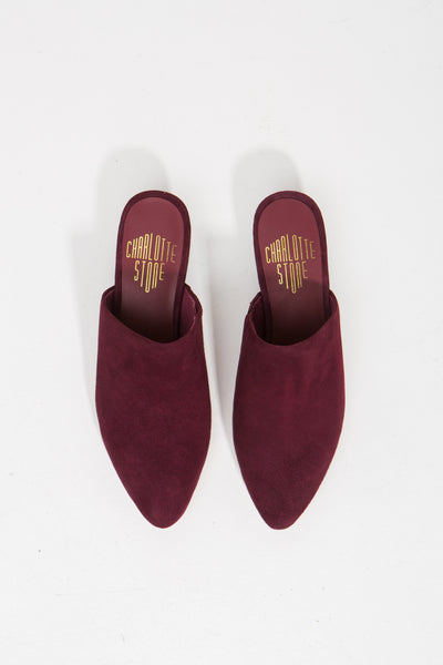 Oxblood Amine Low Mule