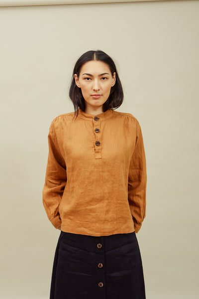 Rust Lala Blouse