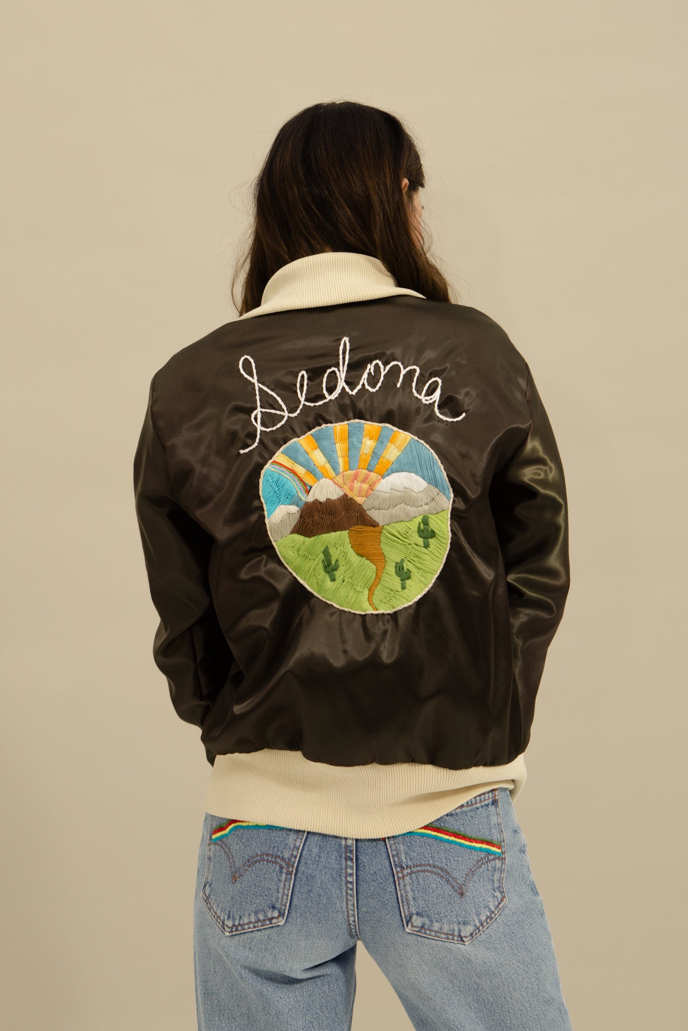 One of a Kind—Sedona Bomber Jacket