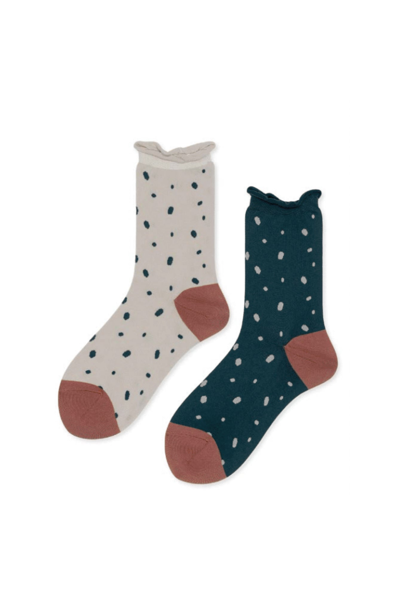 Sprinklet Mismatch Crew Sock