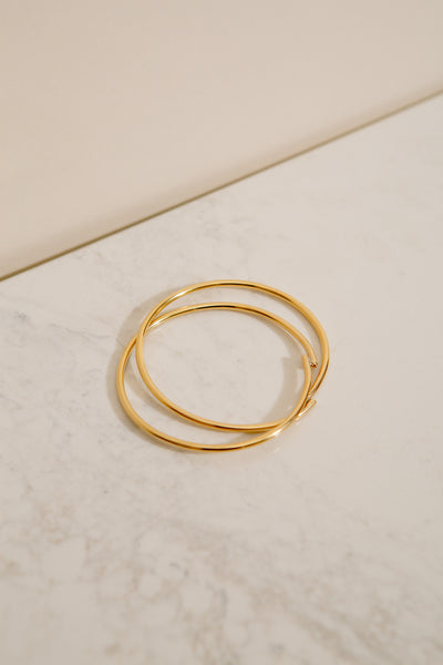 Entwined Bangle
