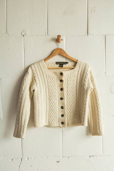 Vintage | Merino Wool Irish Knit Sweater