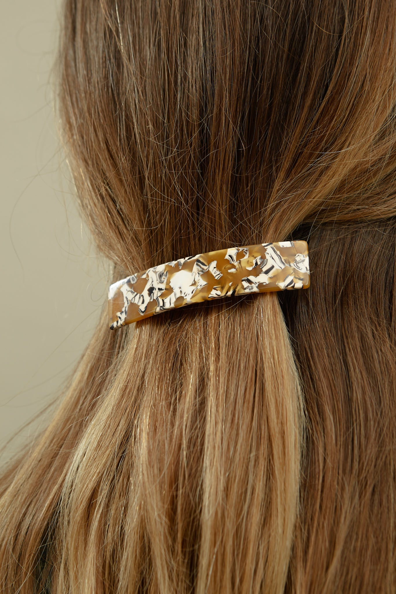 French Hair Clip—Calico