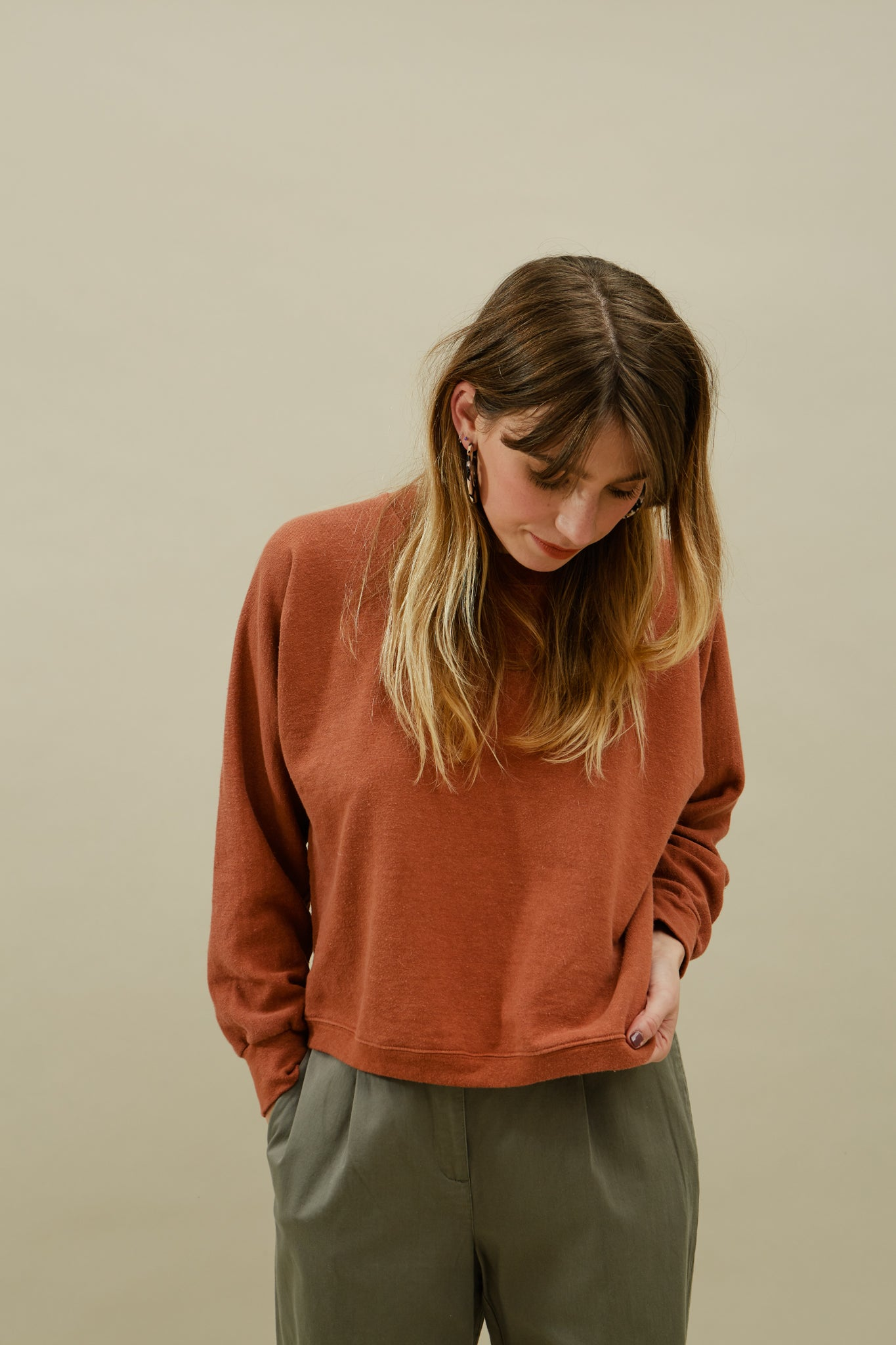 Ami Sweatshirt—Canyon