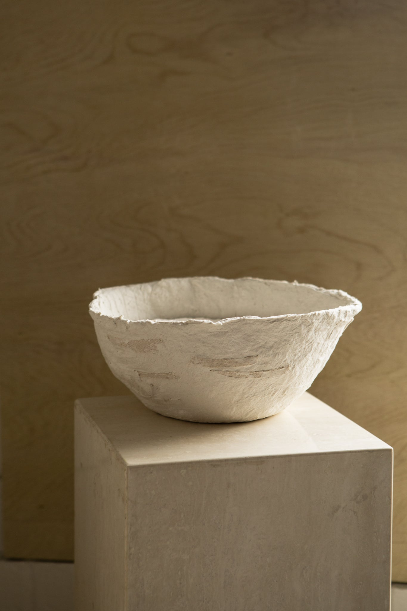 Large Detailed Papier-Mâché Bowl