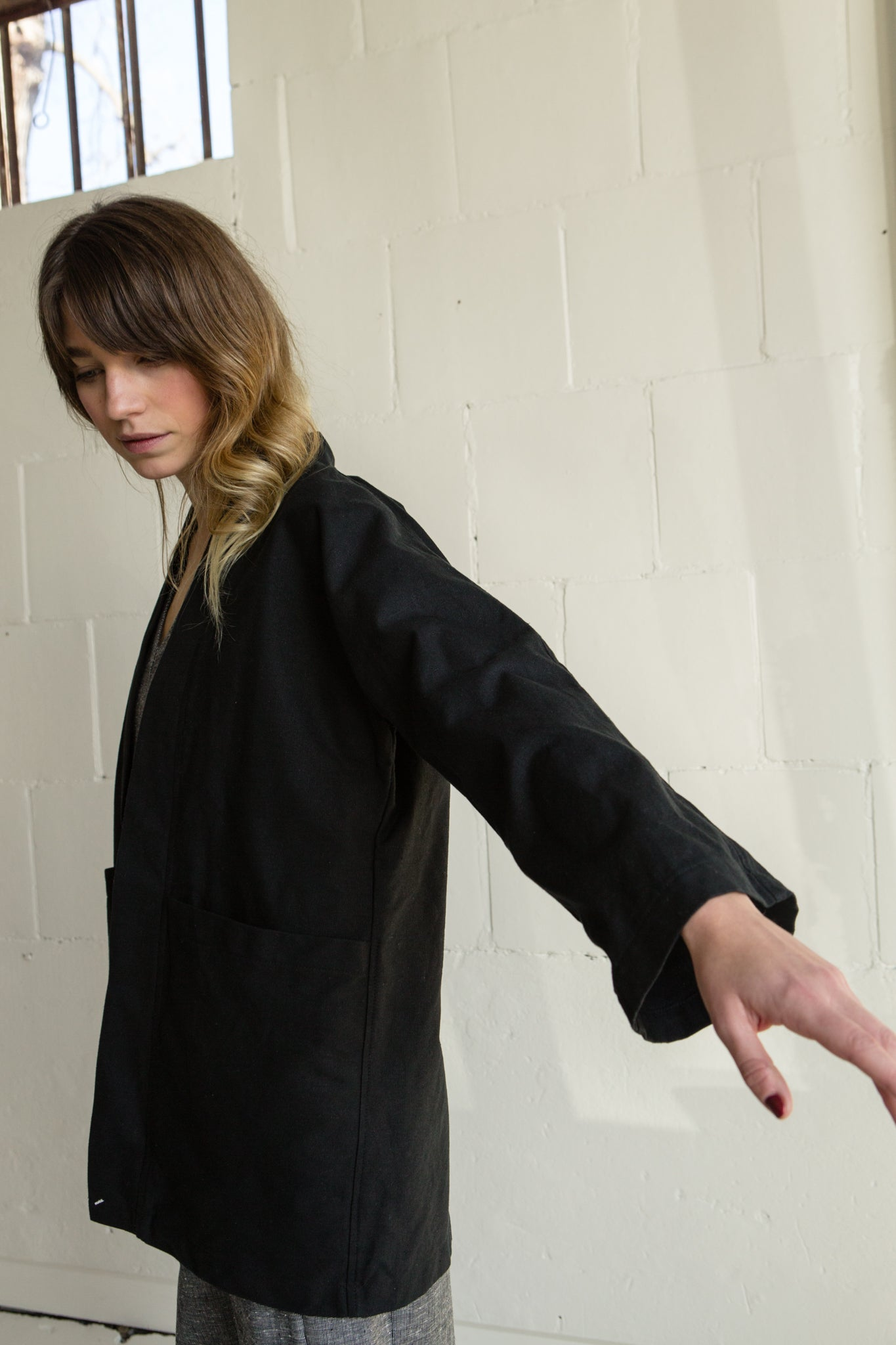 Haori Jacket—Black
