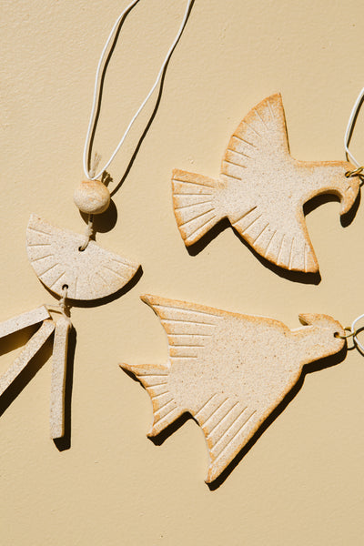Ceramic Whimsy Ornament