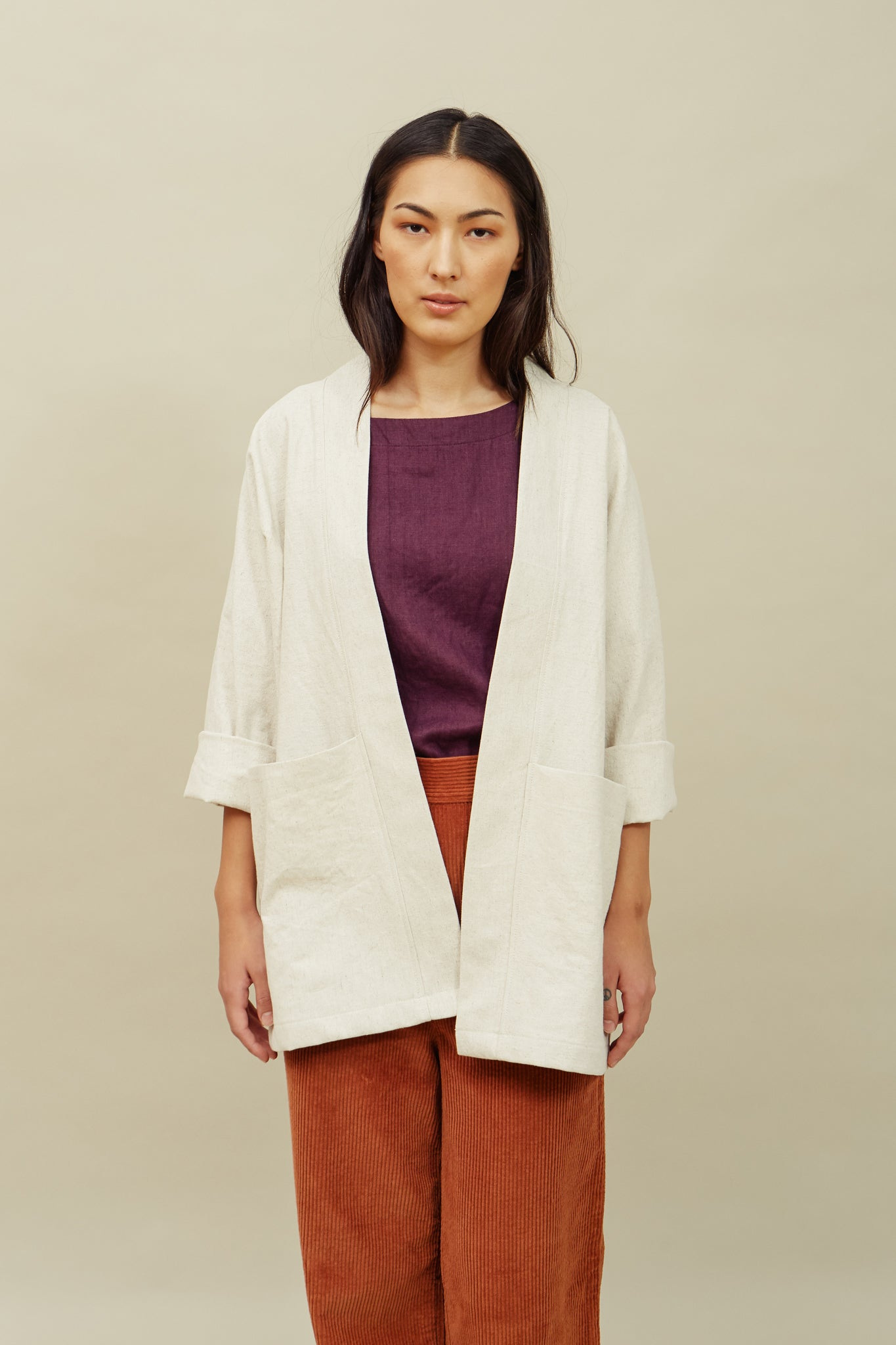 Haori Jacket—Natural